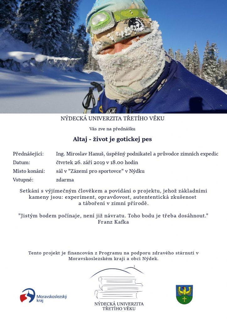 Altaj – život je gotickej pes